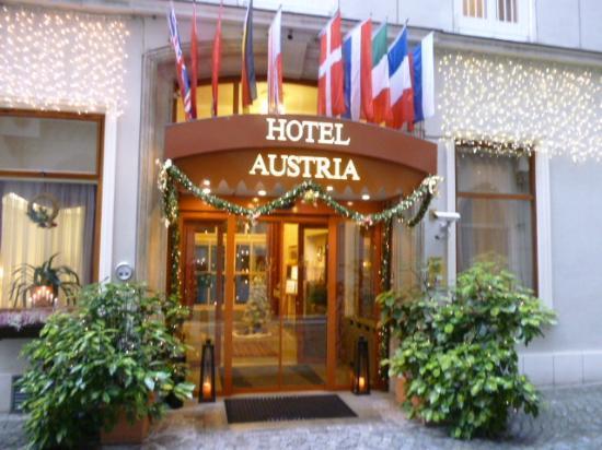 Hotel Austria : Entrée de l'hôtel