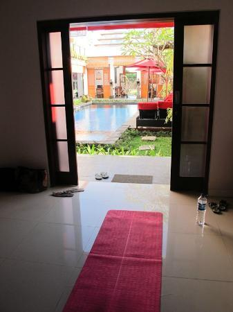 Kamar Kamar Rumah Tamu: Great space for yoga