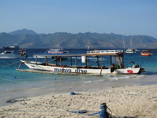 Manta Dive: Dive boat