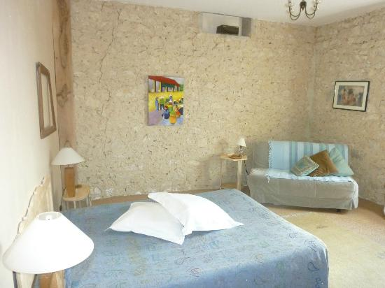 Chambres d'hotes Le Hour: chambre