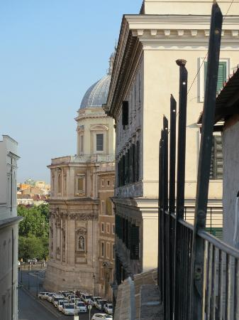 Hotel Santa Prassede : View from rear