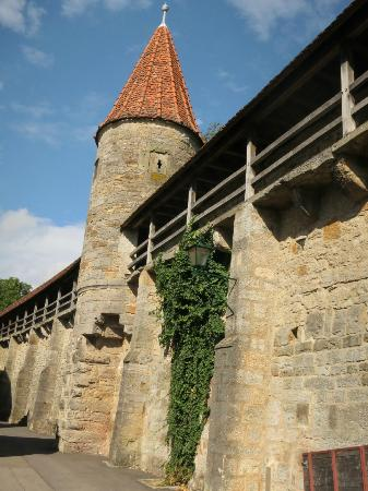 Town Walls : Vue sur les remparts 2