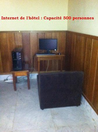Negresco Veraclub : Point Internet