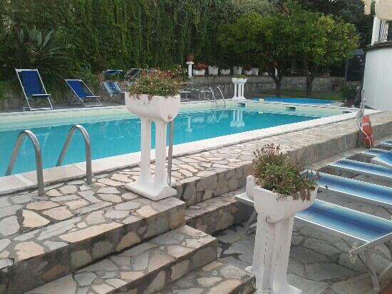 Bellavista: L'angolo piscina. Tranquillo, pulito e soleggiato... un'oasi!