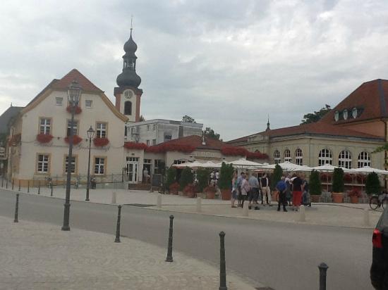 Schwetzingen, Alemania: Brauhaus Zum Ritter in Scwetzingen