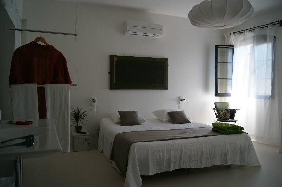 Maison d hotes Metafort: chambre Opaline