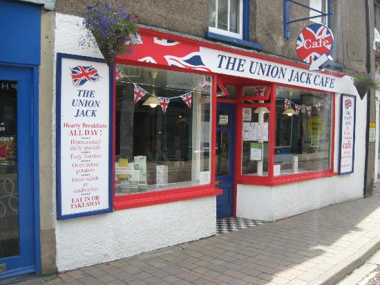 The Union Jack: New exterior decor