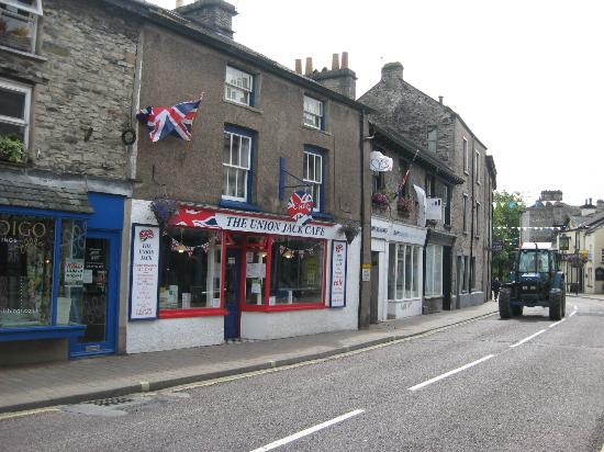 The Union Jack from the street