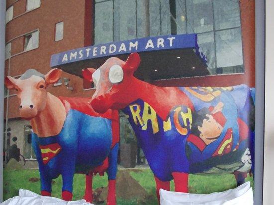 WestCord Art Hotel Amsterdam: Headboard