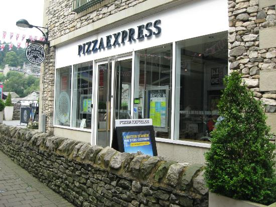 PizzaExpress: As seen fro the yard