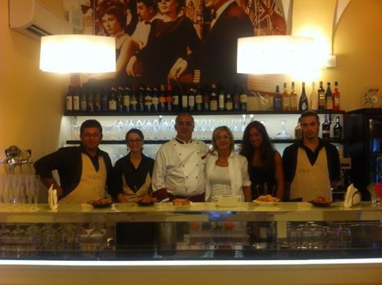 La Dolce Vita Wine and Food: lo staff