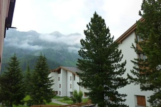 Hotel Cervus: 部屋からはそれ程の景色は望めません。