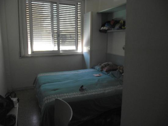 Hotel Mutacita: nettes kleines Zimmer mit Ventilator