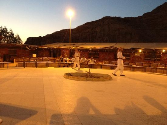 Jabal Rum Camp : the place where the party takes place