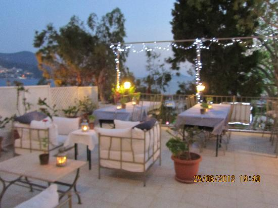 la terrazza restaurant bar teras - Picture of La Terrazza, Kalkan ...