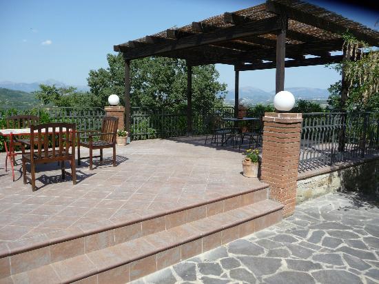 Semidimela: Eén van de terrassen