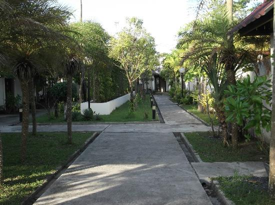 The Sea House Beach Resort: Resort compound