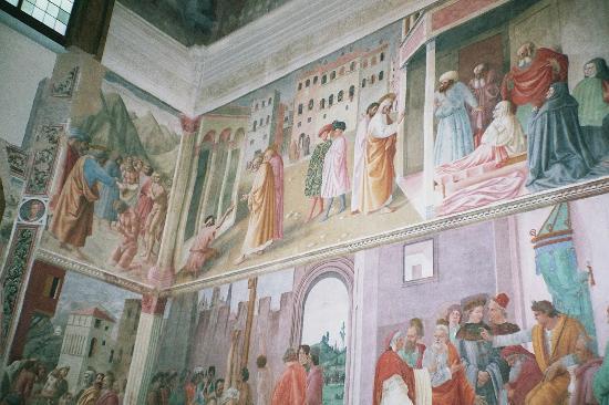 Santa Maria del Carmine : Chapelle Brancacci photo Francesca GILLON