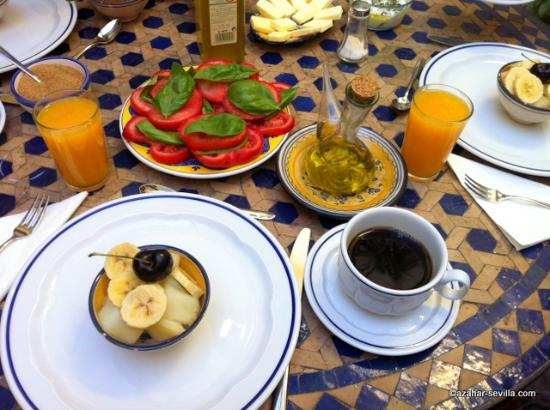 Baraka Boutique Pension: Breakfast