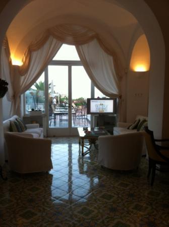 Hotel Flora : interno