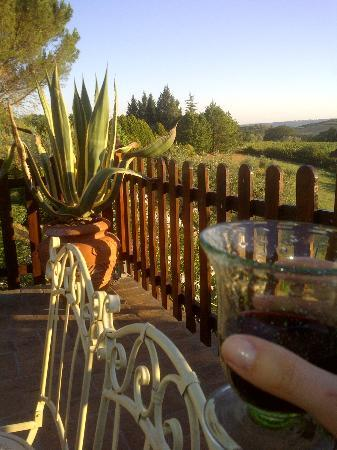 Villa Pina : Apero time by sunset