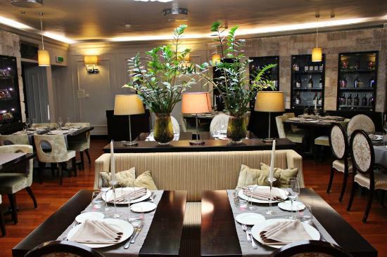 Restaurant Kastel: Inside restaurant detail