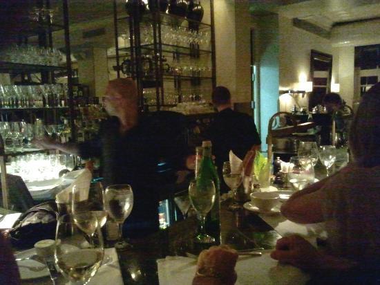 Hotel Montefiore: The bar