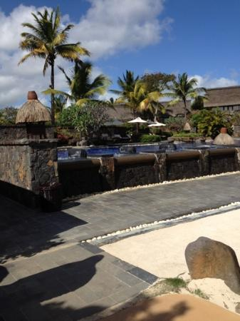 The Oberoi, Mauritius: one of the swimmingpools