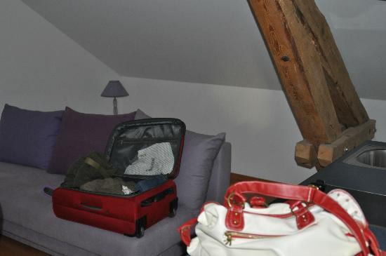 Hotel de la Petite Gilberte: la chambre principale