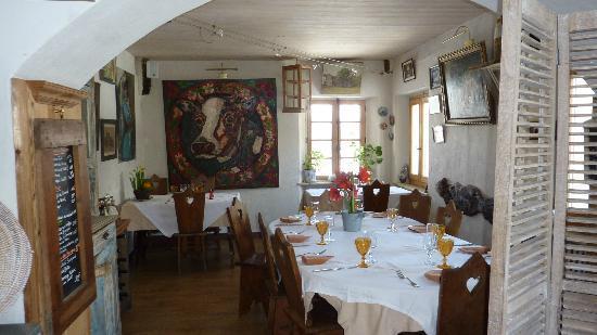 Hotel Le Marais: Déco salle à manger