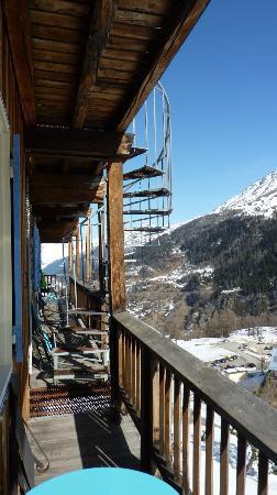 Hotel Le Marais : Balcon et escalier de secours