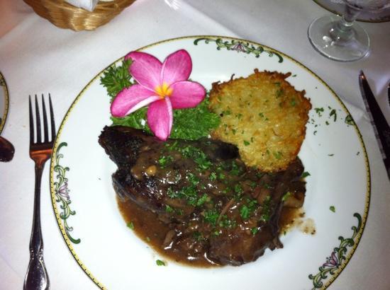 Euphemia Haye Restaurant : lamb shank