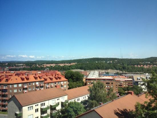 """Quality Hotel Panorama: view from 7th floor on the """"town site"""""""