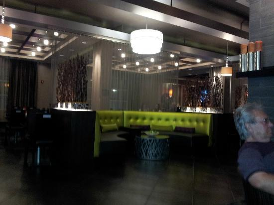 Hyatt House Philadelphia/King of Prussia: a banquet in the dining area of the lobby