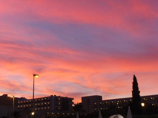 Hotel Anfora: Beautiful Es Cana sky at night taken from entertainment area