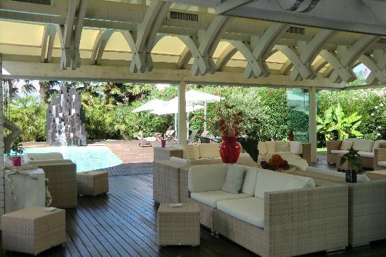 Color Hotel: Lounge area