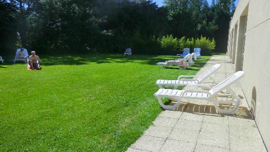 BEST WESTERN Grand Hotel Le Touquet : Extérieure piscine