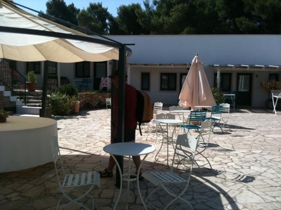 Masseria Fontanelle: la piazzetta