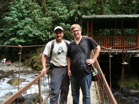 Mindo Cloud Forest Day Tours: Nambillo waterfall in Mindo Clou Forest