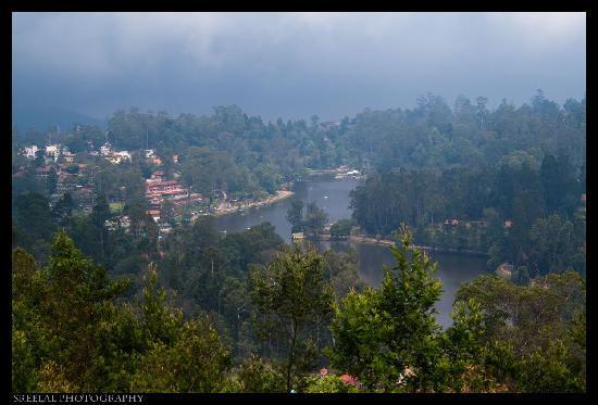 Surya Holidays Kodaikanal: view from suite