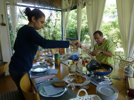 Barud Bed and Breakfast: Only a fraction of breakfast served so far