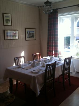Ashbury Bed & Breakfast: ready for breakfast