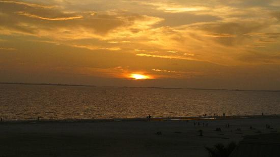 Gulfview Manor Resort: sunset from GulfView Mano