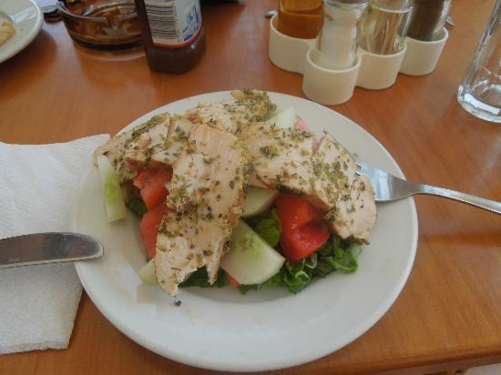 Theodosia: v nice chicken salad at hotel