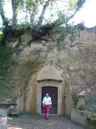 Torraccia di Chiusi: Stefano at The Cave