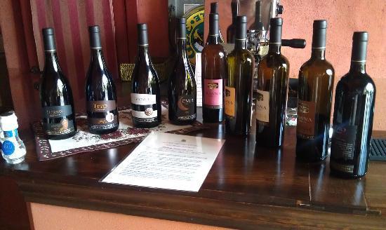 Torraccia di Chiusi: Stefano's Wines