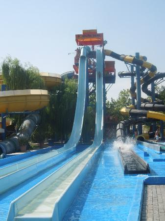 Agios Ioannis, Greece: biggest slides!