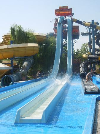 Agios Ioannis, Grekland: scary rides