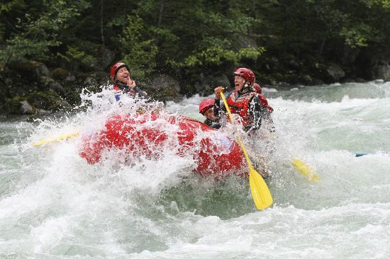REO Rafting Resort: A refreshing slap in the face!