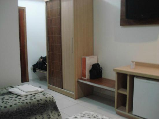 Muffato Plaza Hotel : habitacion